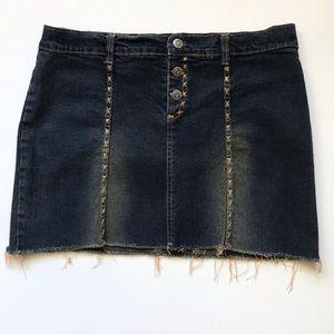 Rampage denim mini skirt Sz S/M
